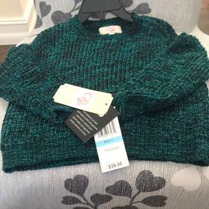 Gianni Bini girls sweater size 5 new with tag